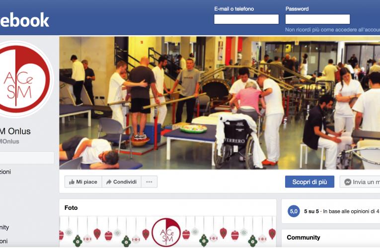La nostra pagina Facebook è attiva!!! Vieni a trovarci!