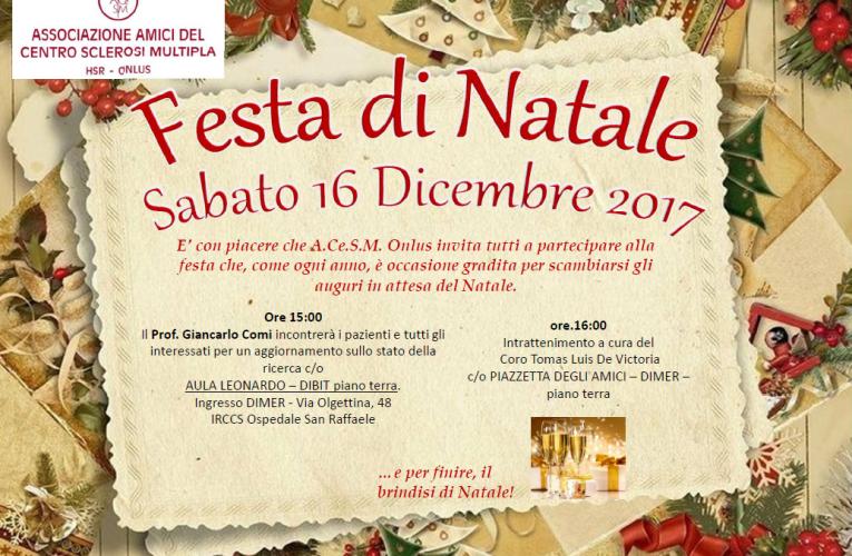Festa di Natale 2017 A.Ce.S.M. Onlus