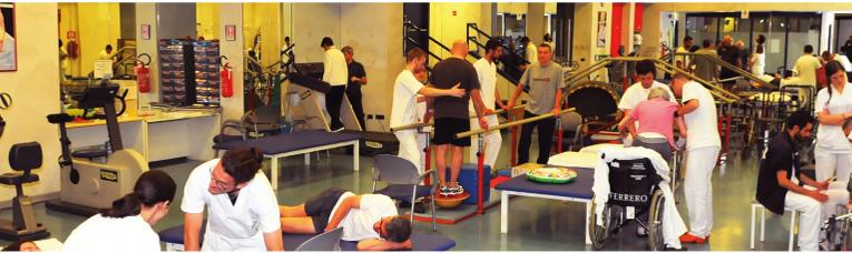 Il servizio di Fisioterapia per i pazienti del Centro SM